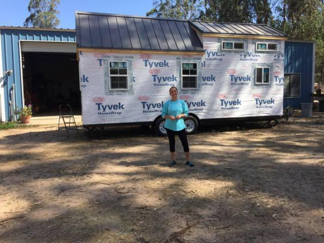 "At My Bunkhouses in Arroyo Grande visiting a Tiny House builder. Vor einigen Wochen in Arroyo Grande waehren eines Besuchs bei ""My Bunkhouses"" Baufirma."