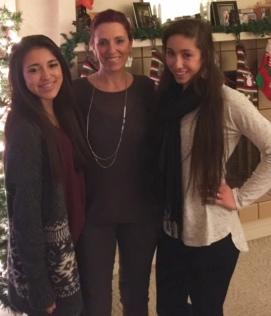 Meine Maedels und ich Weihnachten 2014. My Gurlz and I Christmas 2015